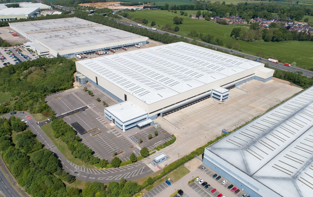Refurbishment of DC1, Prologis Rugby Central Park