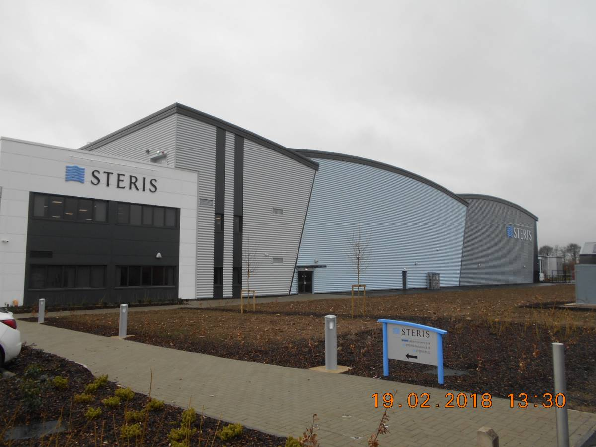 Steris, Watermead Business Park