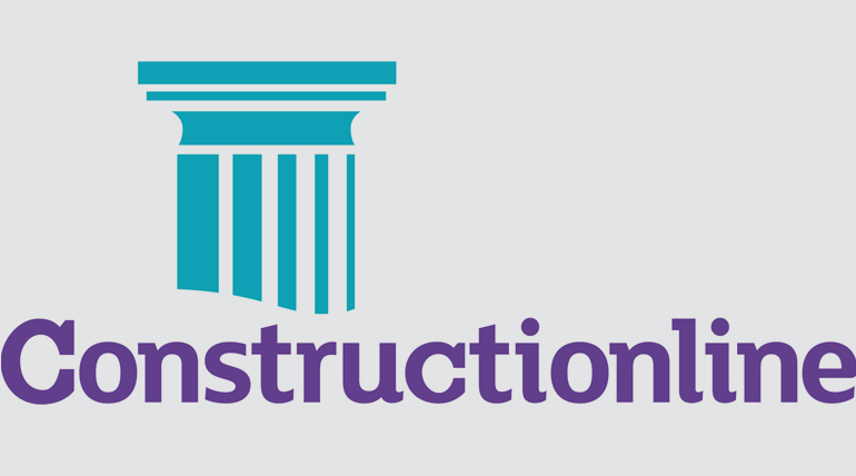 constructionline register of qualified construction services logo
